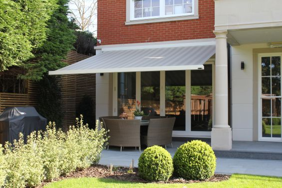 Patio Awning, Folding Arm Awning