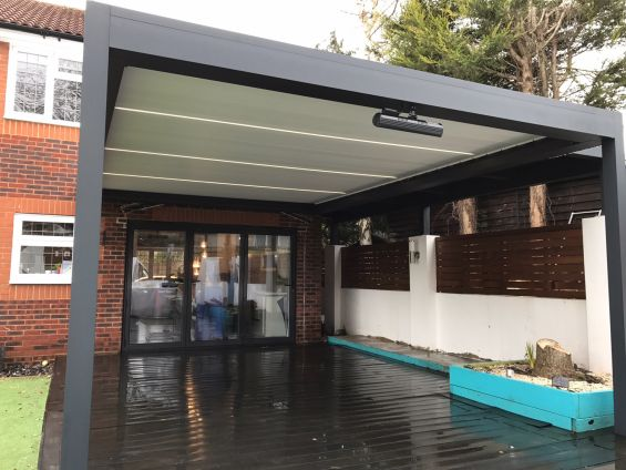 Caribbean Blinds, Louvered Roof, Outdoor Living Pods, Pergola