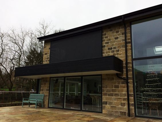 External Roller Blind, External Shading, Balcony, View, Window, Sliding Door