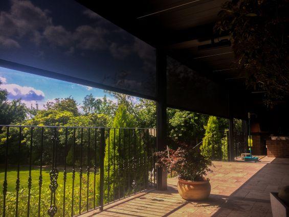 Outdoor, Living, Pod, Garden, Caribbean Blinds