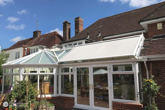 Roof Blinds, External Blinds, Conservatory, Caribbean Blinds