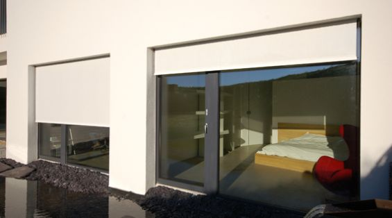 Passivhaus External Roller Blinds
