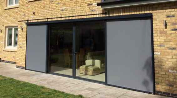 External Roller Blinds Window