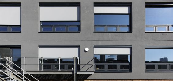 Caribbean Blinds, External Roller Blinds, External Shading, Solar Glare, Architects, AHMM