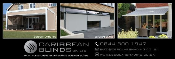 Caribbean Blinds Advert
