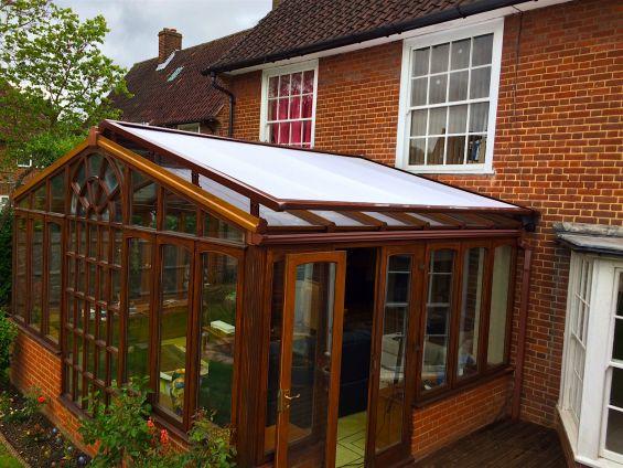 External Roof Blind Conservatory