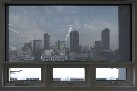External Roller Blinds, City View, Fabric