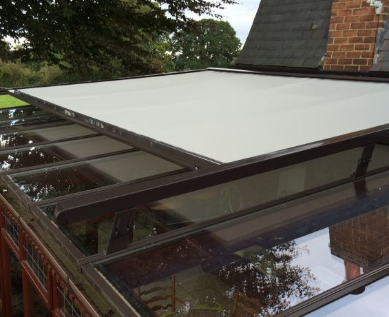 External Roof Blind in Northamptonshire