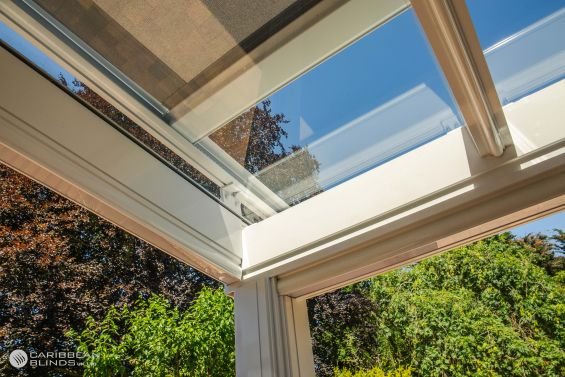Cayman Roof Blinds, Roof Blind, Glass Room Extension, Conservatory, Skylight, Skylight Blinds, Rooflight Blinds, Veranda