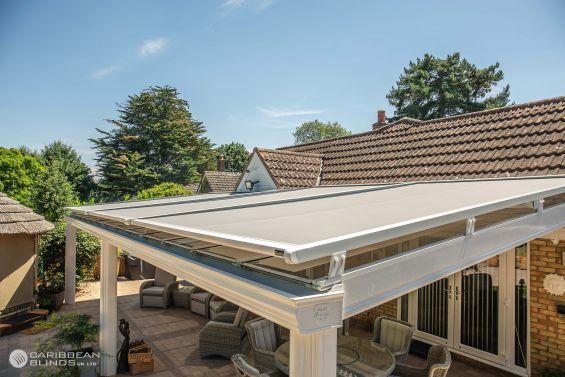 Cayman Roof Blinds, Roof Blind, Glass Room Extension, Conservatory, Skylight, Skylight Blinds, Rooflight Blinds, Veranda