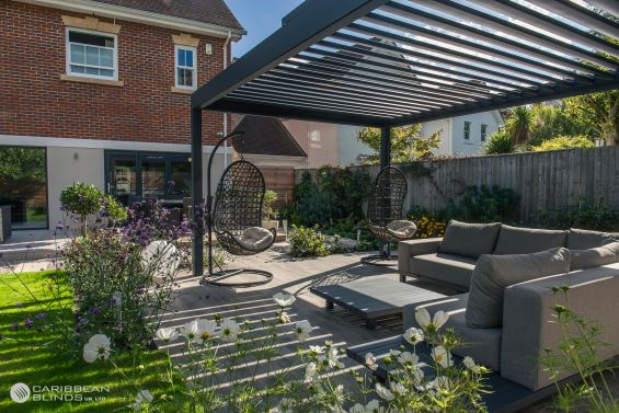 Outdoor Living Pod, Louvered Roof, Canopy, Pergola, Classic, Garden Room, Louvered Canopy, Louvered Pergola, Aluminium Pergola, Gazebo