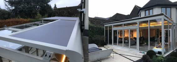 Roof Blinds, External Blinds, Cayman, Glass Room, Conservatory
