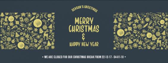 Christmas External Shading Banner