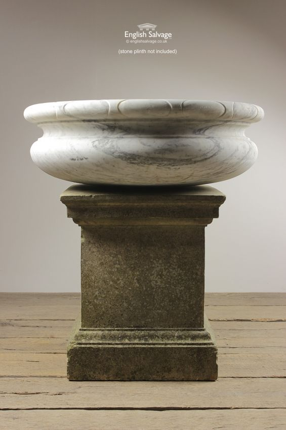 Water Feature, Marble, English, Classic, Pillar