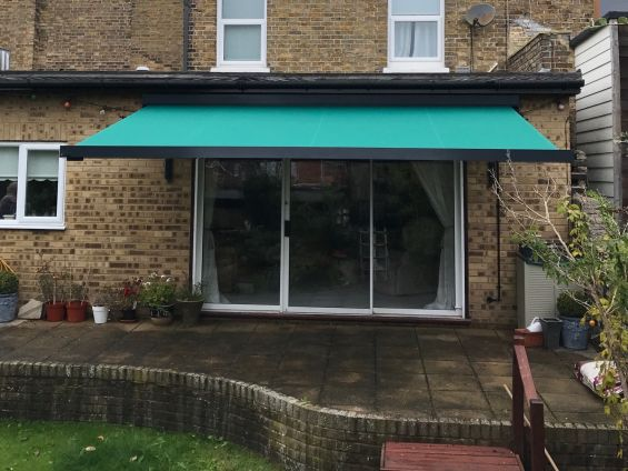 Patio Awning in Canterbury, Kent