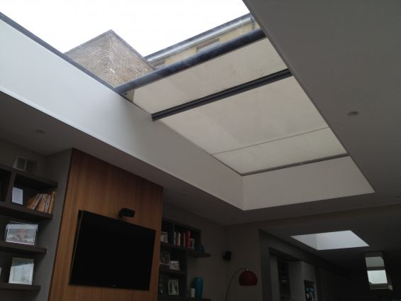 Skylight, Window, Glass, Roof, Tension Roof Blind, Roof Blind, External Roof Blind, External Blinds, Exterior Blinds, Blinds