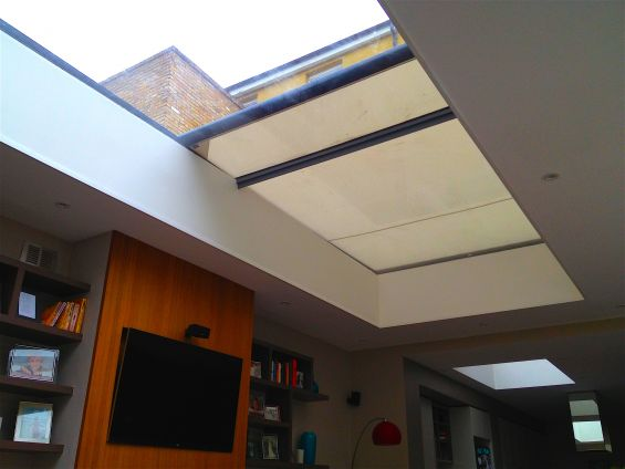 External Roof Blind