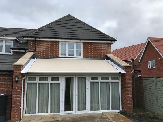 External Roof Blind