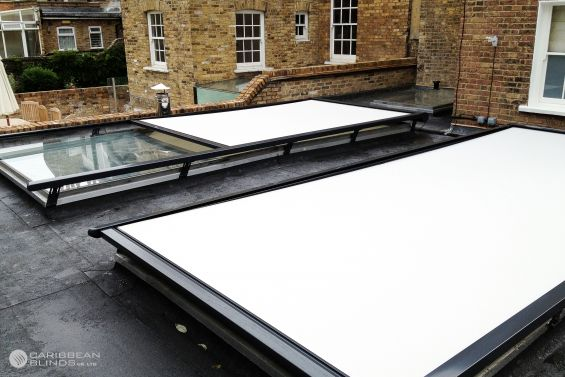 Cayman Roof Blinds, Roof Blind, Glass Room Extension, Conservatory, Skylight, Skylight Blinds, Rooflight Blinds