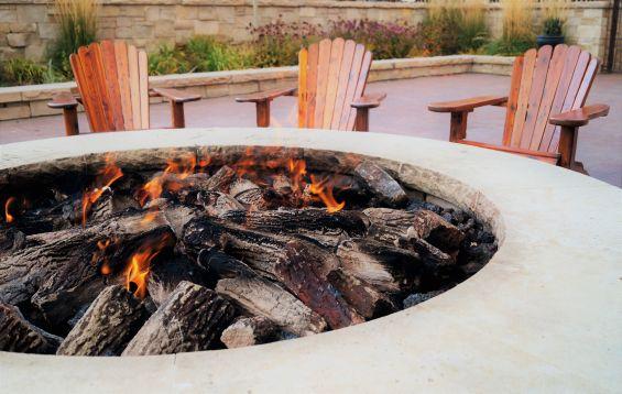 Fire Pit, Garden