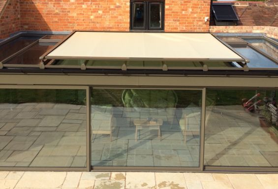 External Conservatory Roof Blind