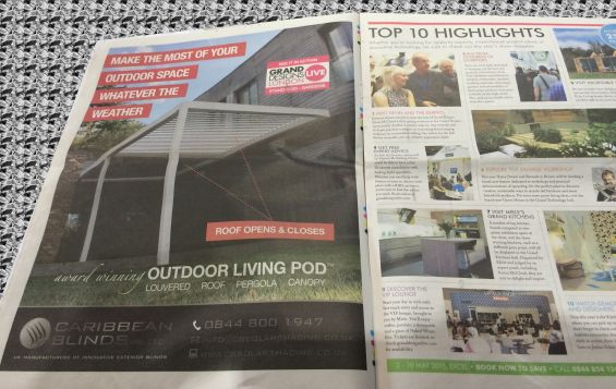 Grand Designs Outdoor Living Pod Advert