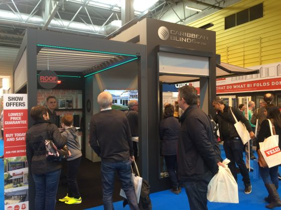 Caribbean Blinds at the Homebuilding & Renovating Show