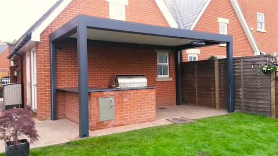 Barbecue Outdoor Living Pod