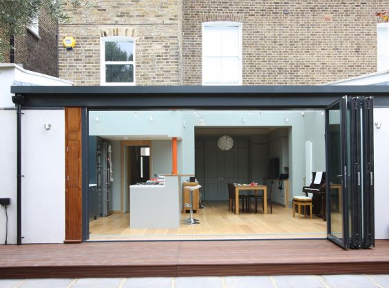 How our homes have evolved over the past 50 years for Sliding glass doors extension
