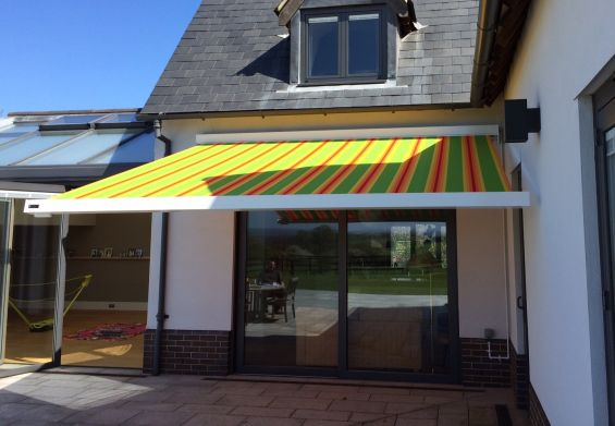 Patio Awning in Waltham Abbey, Essex
