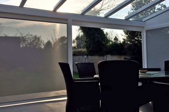 External Blinds for Glass Veranda