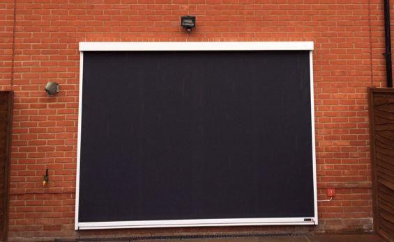 External Roller Blind - Sun Screen