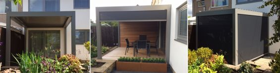 Louvered Roofs - Garden Rooms