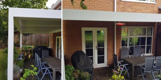 Louvered Roof - Sutton Coldfield, Birmingham