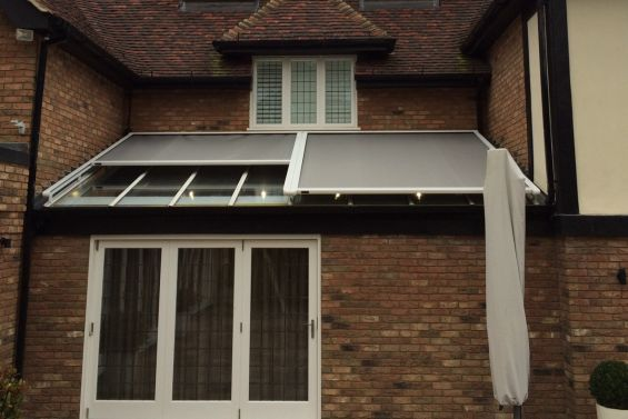 External Roof Blinds - Conservatory Awnings