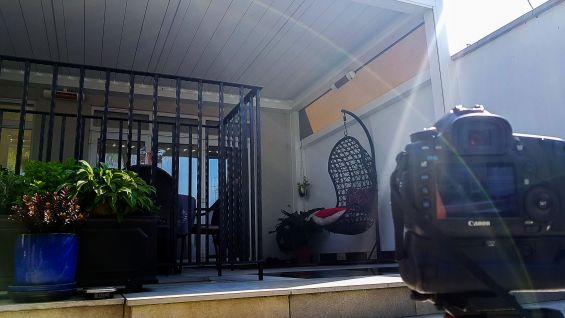 Outdoor Living Pod, Louvered Roof, Pergola, Patio, Garden