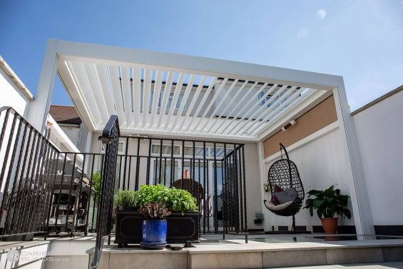 Outdoor Living Pod, Canopy, Pergola, Louvered Roof, Outdoor Living, Patio Canopy