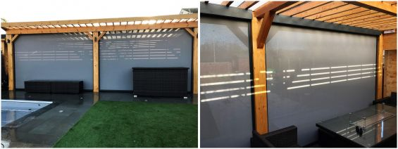 Caribbean Blinds, External Blinds, Roller Blinds, Pergola, Antiguan