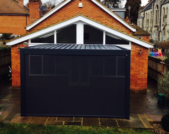 Outdoor Living Pod to Gable End Bungalow in Reigate