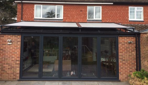 External Roof Blinds - Conservatory Roof