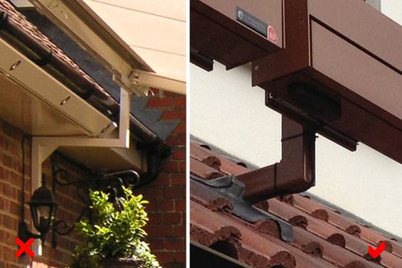 Roof Rafter Mounted Awnings