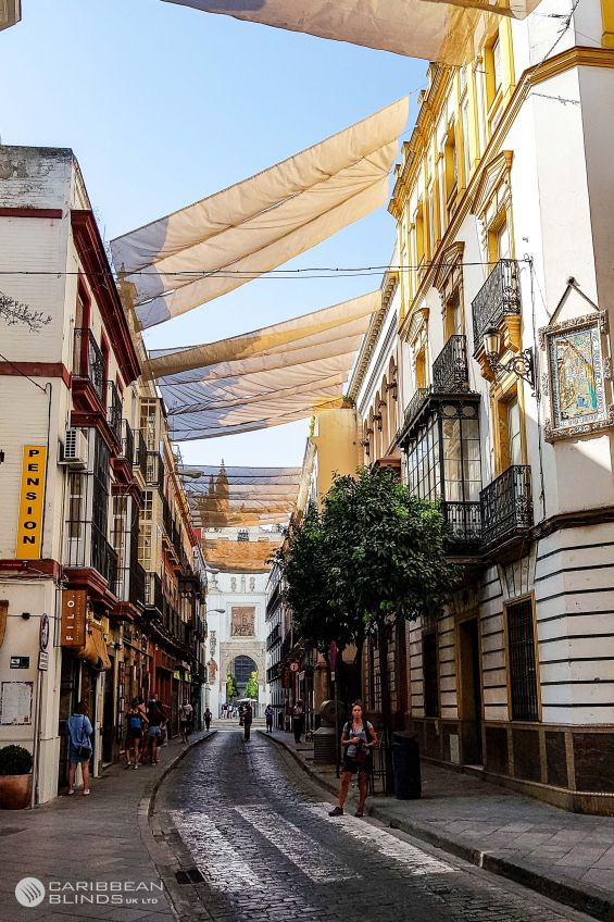 Sail Shades,Shading, Seville