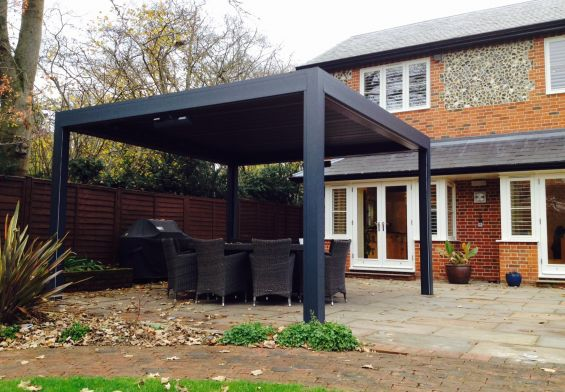 Louvered Roof, Pergola Canopy