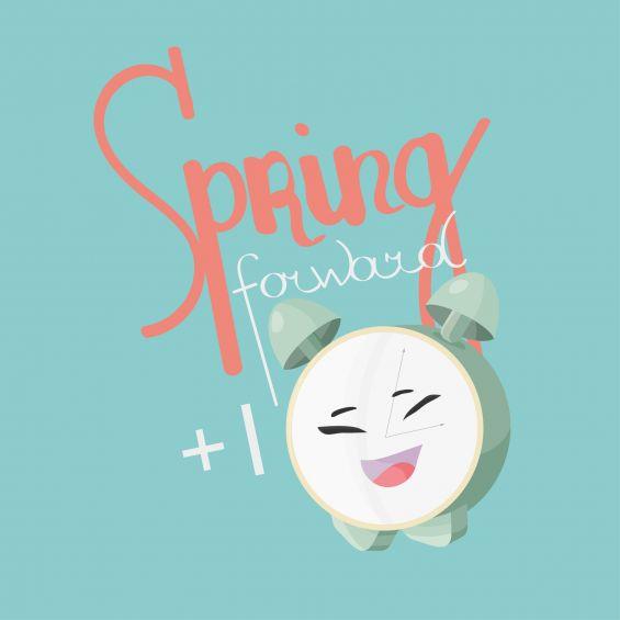 Spring, Clocks, Time