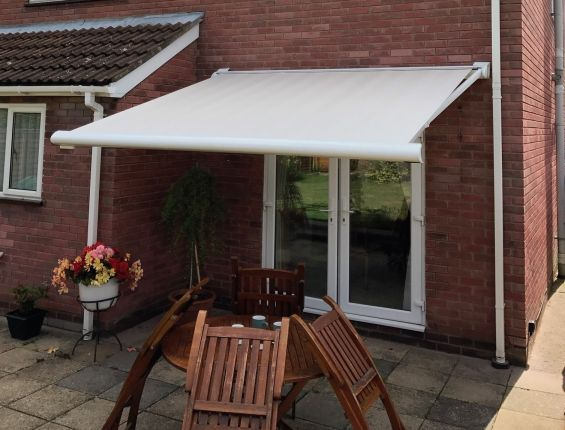 Patio Awning in Ipswich, Suffolk