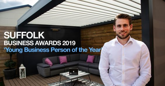 Stuart Dantzic, Caribbean Blinds, Suffolk Business Awards, Young Business Person of the Year, Suffolk