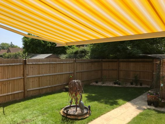 Patio Awning - Hayling Island