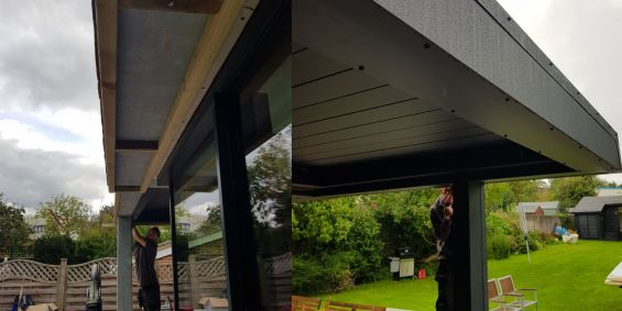 Outdoor Living Pod, Caribbean Blinds, Wokingham