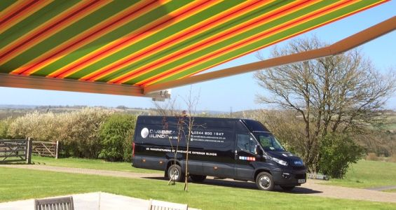 Caribbean Blinds installation vehicle