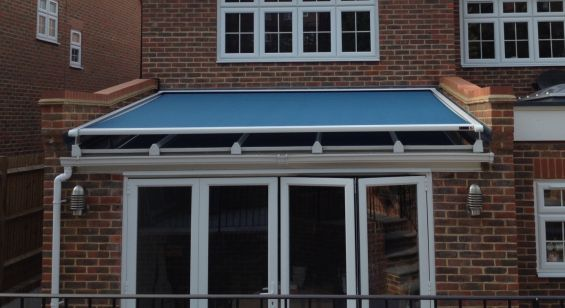 Conservatory Roof Blinds External